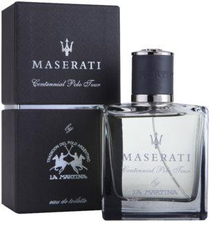 La Martina Maserati Centennial Polo Tour eau de toilette pour homme 100 ml