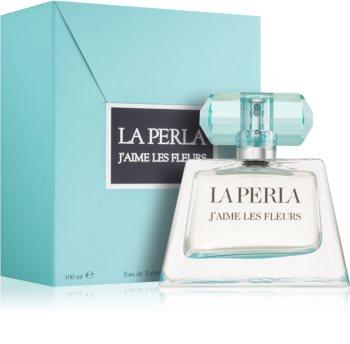 La Perla J´Aime Les Fleurs Eau de Toilette para mulheres 100 ml