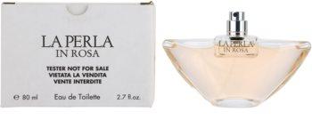La Perla In Rosa toaletní voda tester pro ženy 80 ml