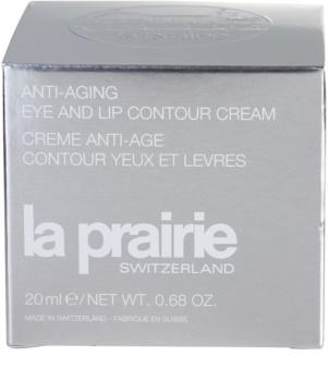 La Prairie Anti-Aging verjüngende Creme für Augen - und Lippenkonturen