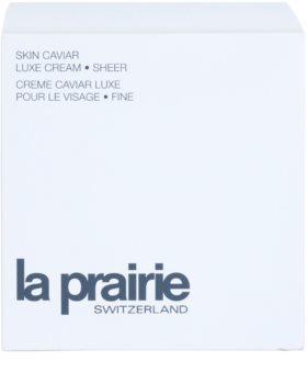 La Prairie Skin Caviar Collection liftingový krém s kaviárom