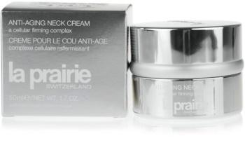 La Prairie Cellular stärkende Creme für Hals und Dekolleté