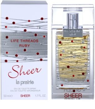 La Prairie Life Threads Sheer Ruby Eau de Toilette Damen 50 ml