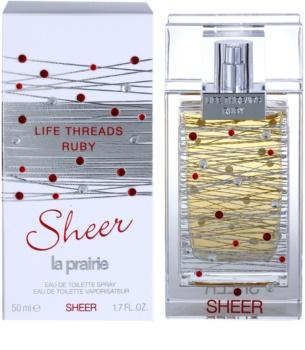 La Prairie Life Threads Sheer Ruby eau de toilette per donna 50 ml