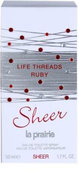 La Prairie Life Threads Sheer Ruby woda toaletowa dla kobiet 50 ml
