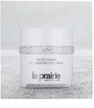 La Prairie White Caviar krema za osvetljevanje predela okoli oči proti oteklinam in temnim kolobarjem