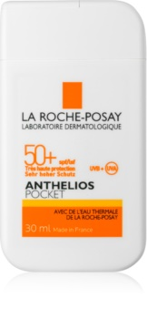 La Roche-Posay Anthelios Pocket защитен крем за чувствителна и нетолерантна кожа на лицето SPF 50+