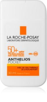 La Roche-Posay Anthelios Pocket védő arckrém érzékeny és intoleráns bőrre SPF 50+