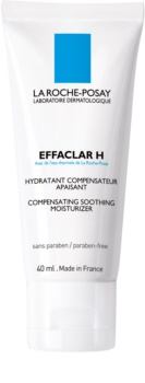 La Roche-Posay Effaclar H creme hidratante e apaziguador  para pele problemática, acne