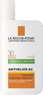 La Roche-Posay Anthelios AC lozione protettiva opacizzante per il viso SPF 30