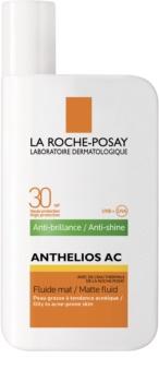 La Roche-Posay Anthelios AC védő és mattító fluid arcra SPF 30