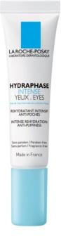 La Roche-Posay Hydraphase cuidado intensivo hidratante para contorno de olhos anti-inchaço