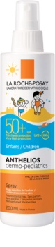 La Roche-Posay Anthelios Dermo-Pediatrics lapte bronzant cu pulverizator SPF 50+