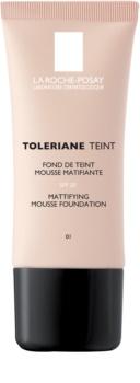La Roche-Posay Toleriane Teint zmatňující pěnový make-up pro mastnou a smíšenou pleť