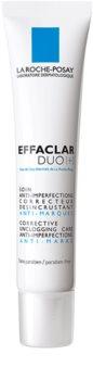 La Roche-Posay Effaclar DUO (+) korrigierende und erneuernde Pflege für Haut mit kleinen Makeln und Spuren von Akne