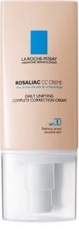 La Roche-Posay Rosaliac CC Creme für empfindliche Haut mit der Neigung zum Erröten