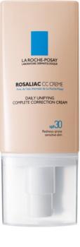 La Roche-Posay Rosaliac crema CC pentru piele sensibila cu tendinte de inrosire