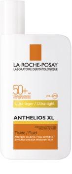 La Roche-Posay Anthelios XL ultra lekki fluid bez środków perfumujących SPF 50+