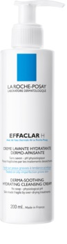La Roche-Posay Effaclar H Creme de limpeza hidratante para pele problemática, acne