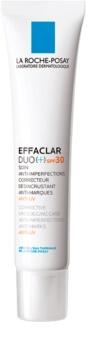 La Roche-Posay Effaclar DUO (+) korrigierende und erneuernde Pflege für Haut mit kleinen Makeln und Spuren von Akne SPF 30