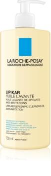 La Roche-Posay Lipikar Huile óleo de limpeza lipídico  anti-irritação