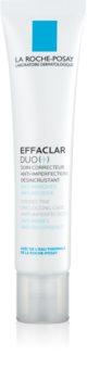 La Roche-Posay Effaclar DUO (+) kijavítja és megújítja az aknés és pattanásos bőr apró hibáit