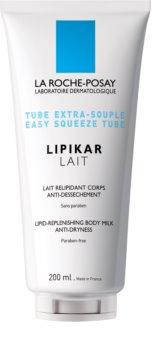 La Roche-Posay Lipikar Lait hydratačné telové mlieko pre suchú až veľmi suchú pokožku