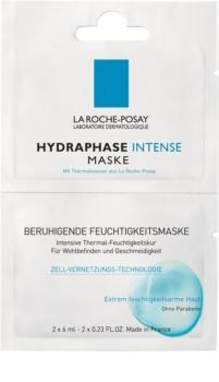 La Roche-Posay Hydraphase beruhigende feuchtigkeitsspendende Maske für empfindliche trockene Haut