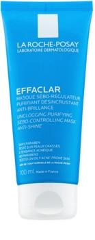 La Roche-Posay Effaclar mascarilla limpiadora para reducir el exceso de sebo y suavizar poros