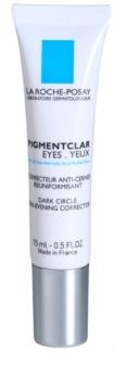 La Roche-Posay Pigmentclar crema iluminadora para contorno de ojos antiojeras