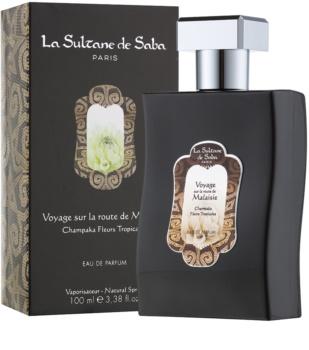 La Sultane de Saba Champaka Fleurs Tropicales Eau de Parfum unissexo 100 ml