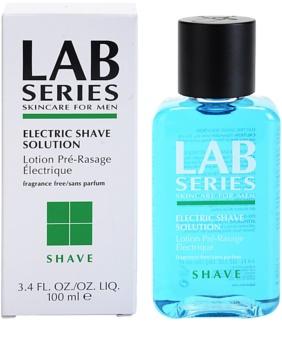 Lab Series Shave koncentrovaná starostlivosť na holenie s elektrickým strojčekom