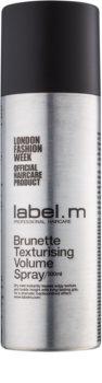 label.m Complete formendes Volumen-Spray für braune und schwarze Haare