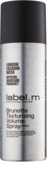 label.m Complete spray teksturyzujący dodający objętości do ciemnych odcieni włosów