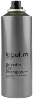 label.m Cleanse Droog Shampoo  voor Bruin Haar