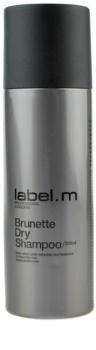 label.m Cleanse champô seco para tons castanhos de cabelo