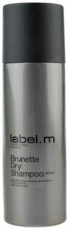 label.m Cleanse suchý šampón pre hnedé odtiene vlasov