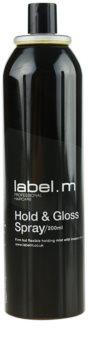 label.m Complete laca de cabelo para fixação e brilho