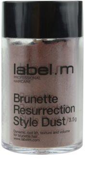 label.m Complete pó de cabelo  para tons castanhos de cabelo