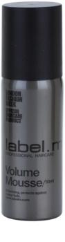 label.m Create αφρώδες σκληρυντικό μους για λεπτά μαλλιά