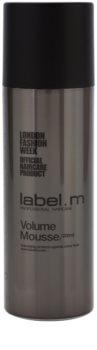 label.m Create mousse para cabelo fino