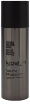 label.m Create Styling Mousse For Fine Hair