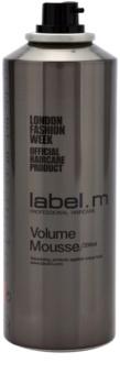 label.m Create fixáló hab a finom hajért