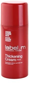 label.m Thickening crema de par pentru dimensiune si forma
