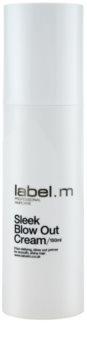 label.m Create uhladzujúci krém pre tepelnú úpravu vlasov