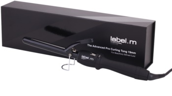 label.m Electrical The Advanced Pro Curling Tong 19 mm arricciacapelli
