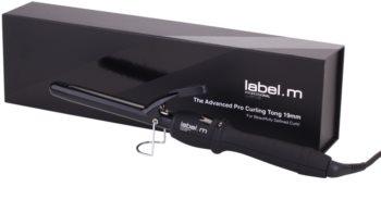 label.m Electrical The Advanced Pro Curling Tong 19 mm hajsütővas