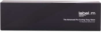 label.m Electrical The Advanced Pro Curling Tong 19 mm ondulator pentru par