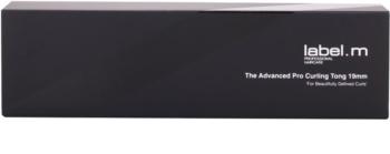 label.m Electrical The Advanced Pro Curling Tong 19 mm rizador de pelo