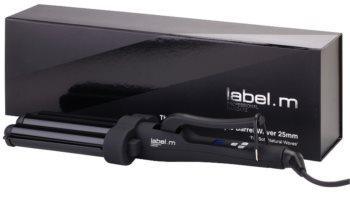 label.m Electrical The Advanced Pro Triple Barrel Waver 25 mm potrójna lokówka